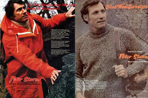Magazine ad for peter storm products (c. 1970s)