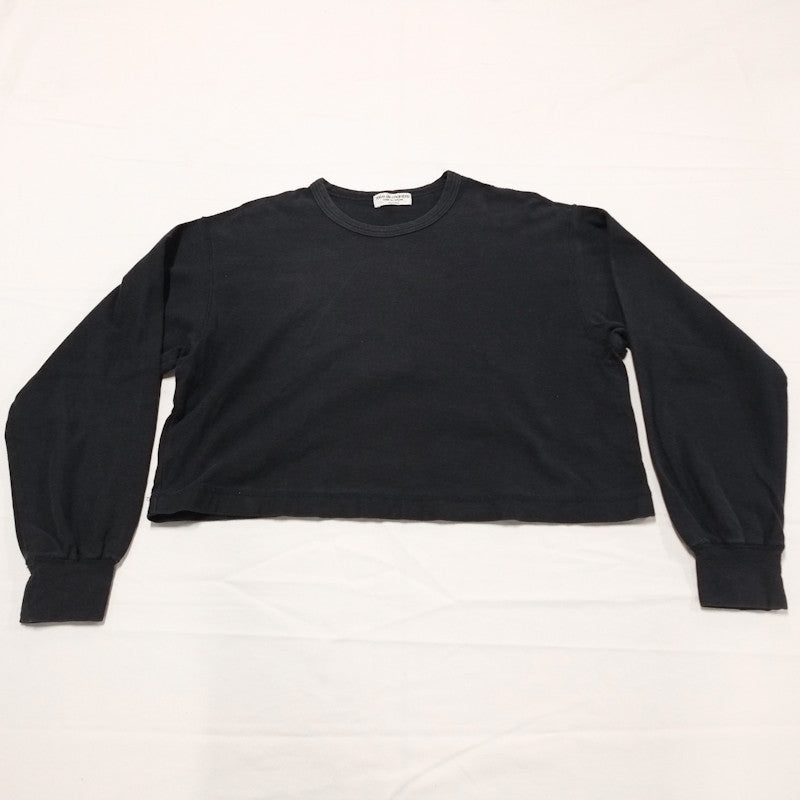 cropped wide sweater