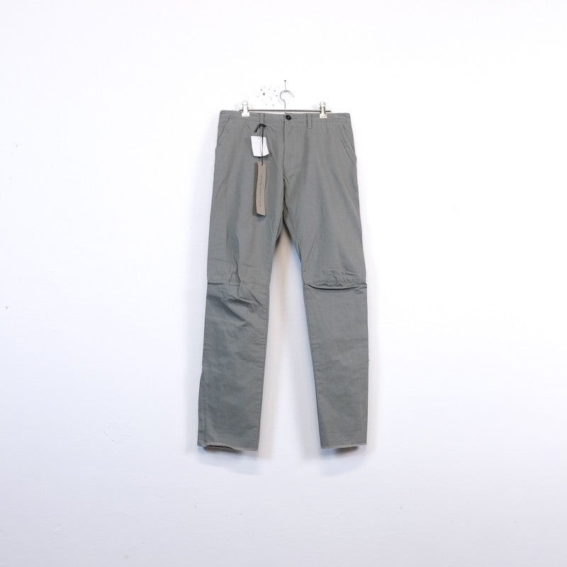 darted zip trousers