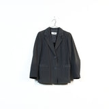 double layer hidden pocket blazer
