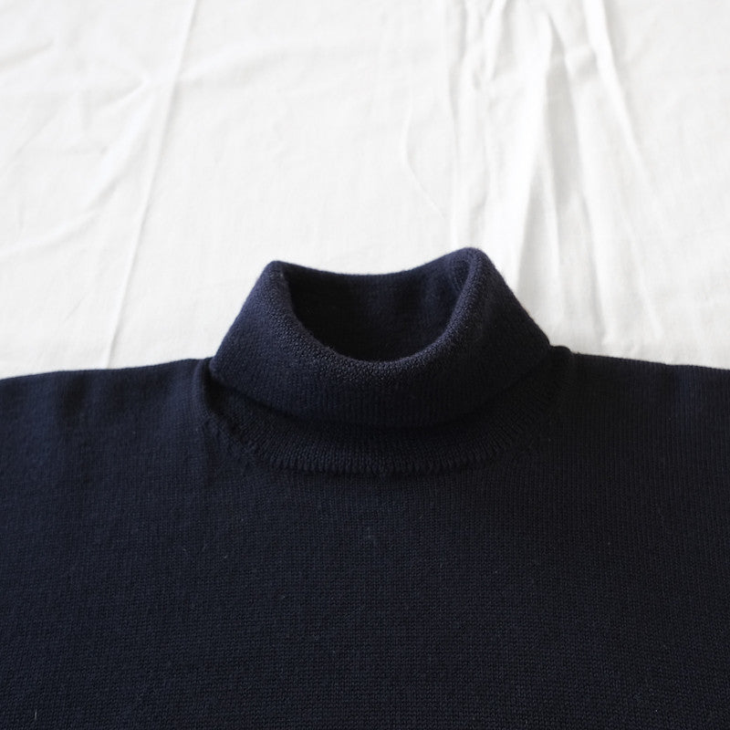 rectangle cut turtleneck