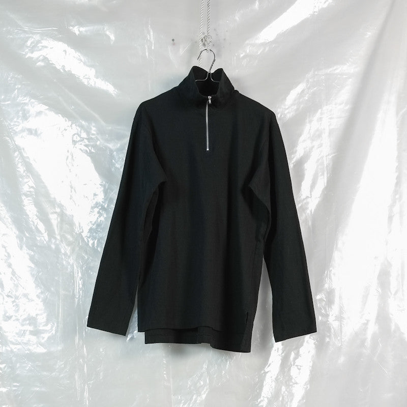 high zip neck longsleeve