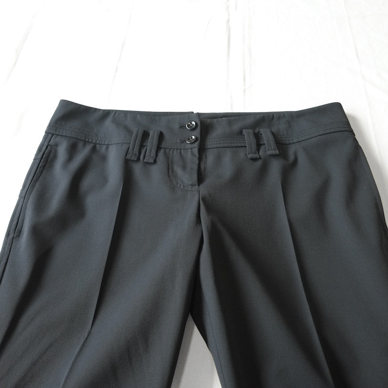 seam detail trousers