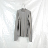elongated longsleeve top