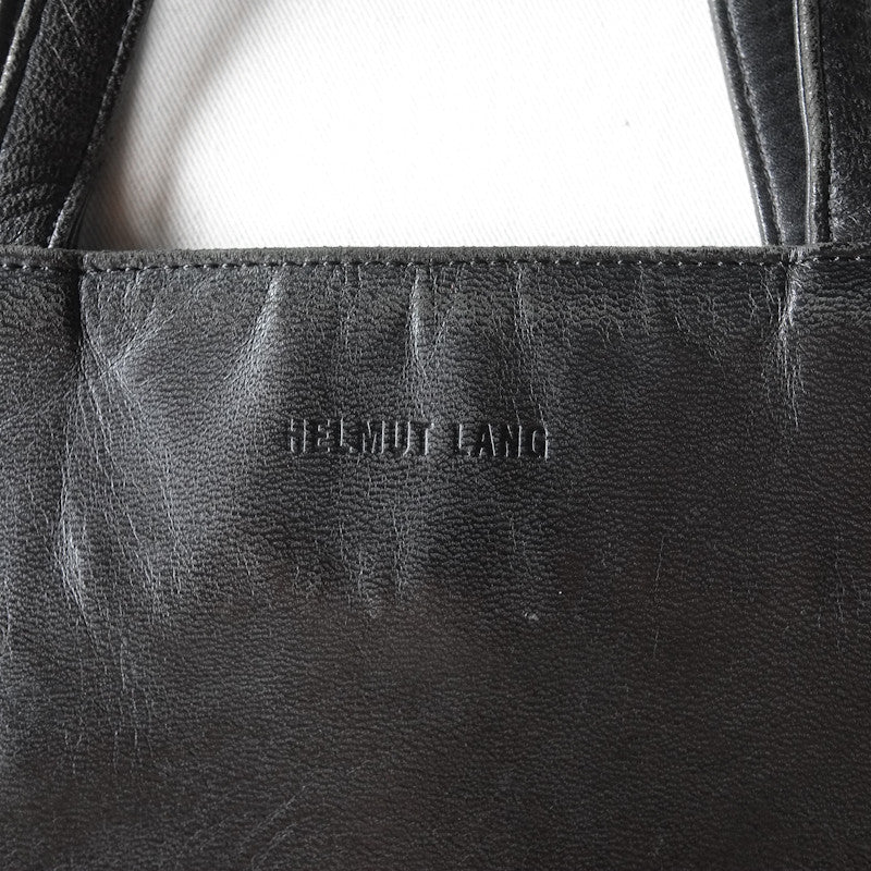 leather tote hand bag