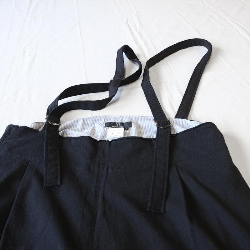 cotton jersey suspender trousers
