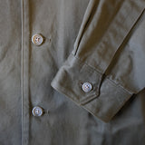 cotton drill work jacket
