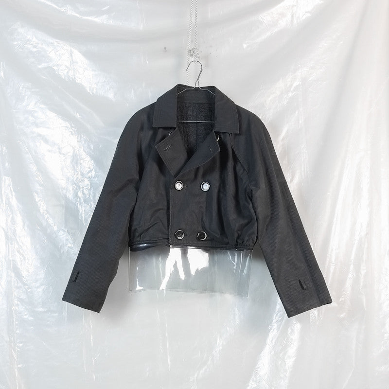 removable plastic peacoat