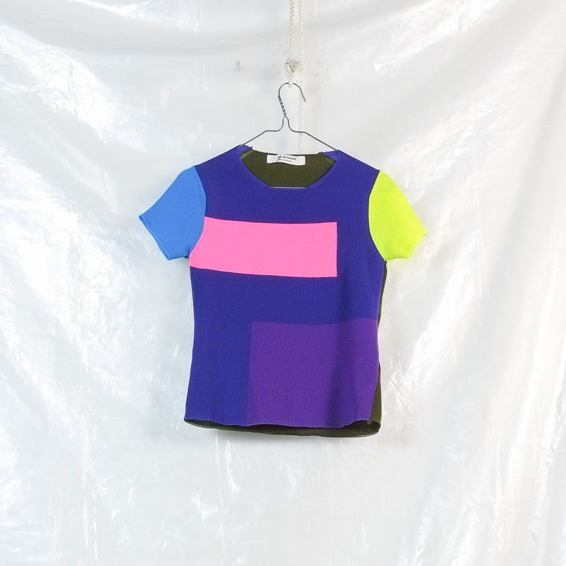 multi colour top