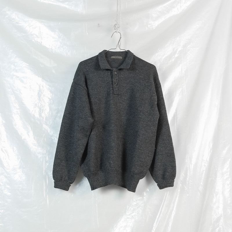 longsleeve polo jumper