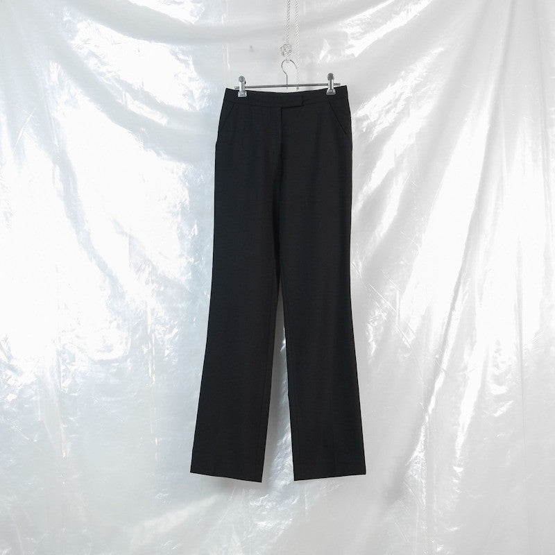 hem detail trousers