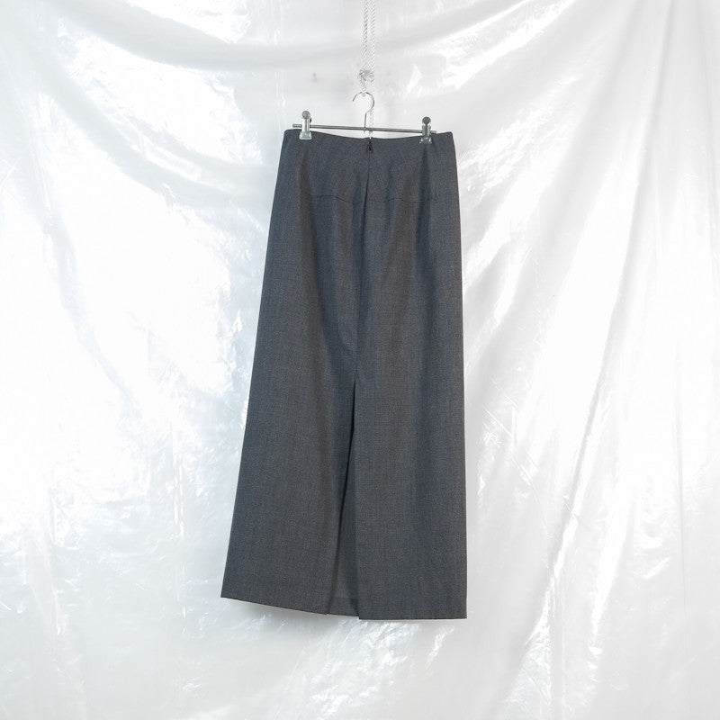 horizontal dart skirt