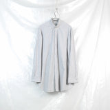 semi concealed placket long shirt