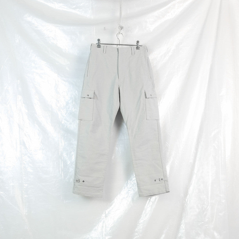 mesh lined cargo trousers