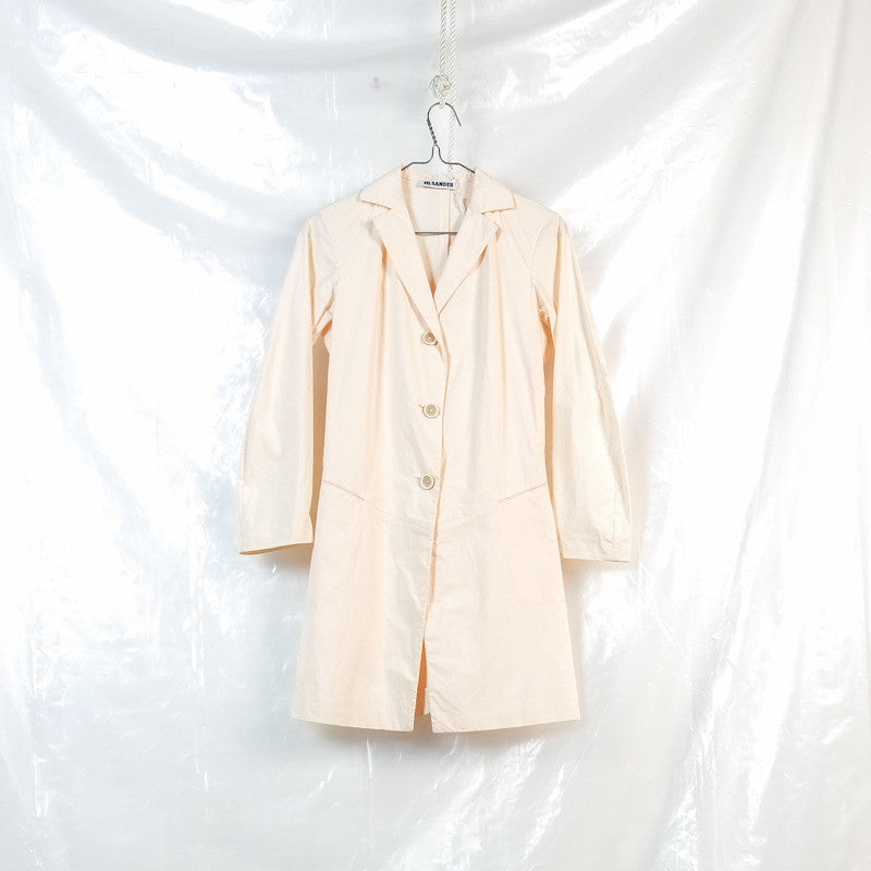elongated shirting jacket