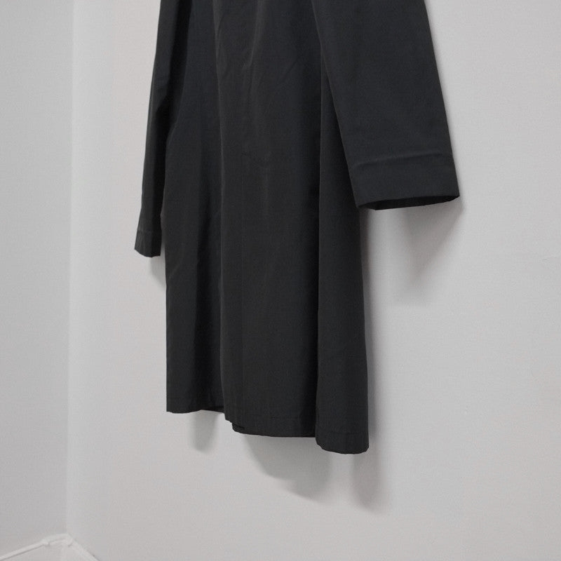 poly / silk mackintosh coat