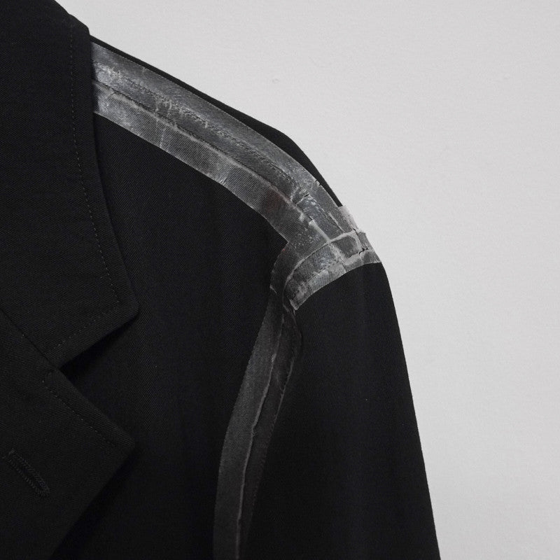 taped seam blazer