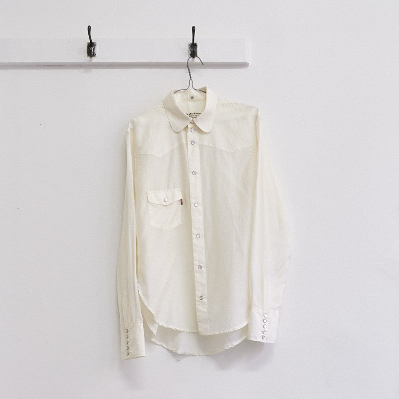 western style club collar shirt