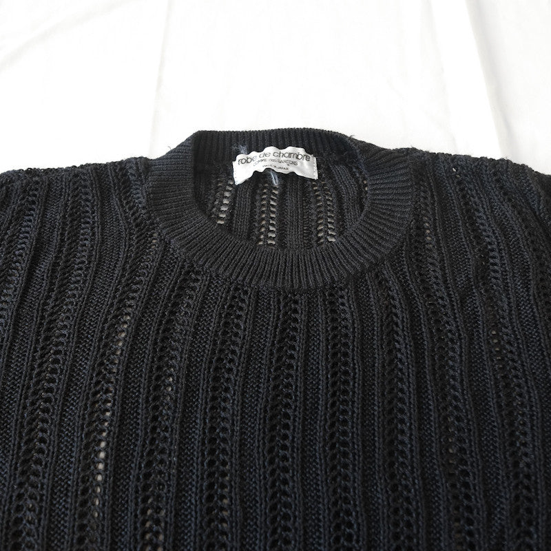 sheer lace long sleeve sweater