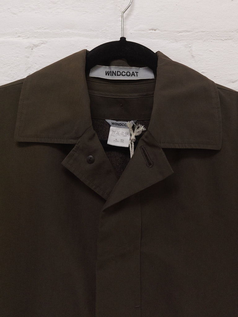 Windcoat Issey Miyake brown removable liner mackintosh coat - size M