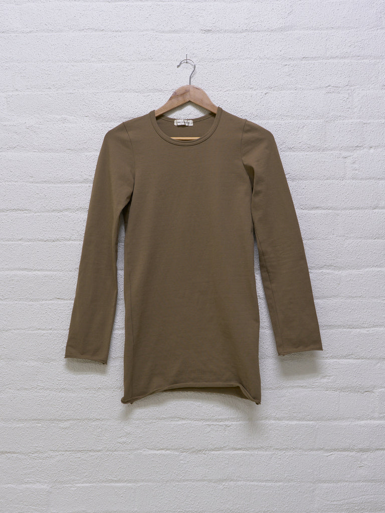 comme des garcons long sleeve nylon top - 1994