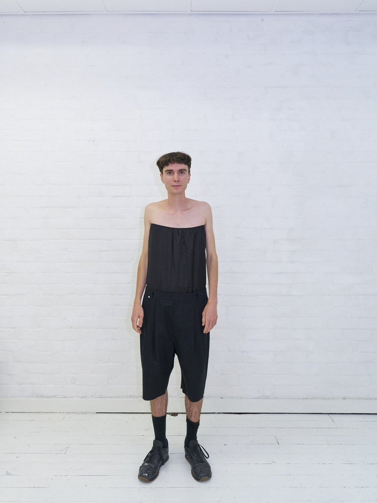 "BLESS no. 49 ""Alternarrative"" tube top panel 'skorts' shorts - 2013"