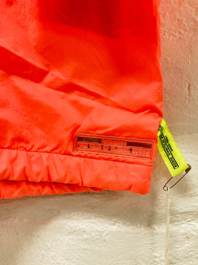Zucca AW1999-2000 'the year of climax' fluorescent orange pullover - size M S