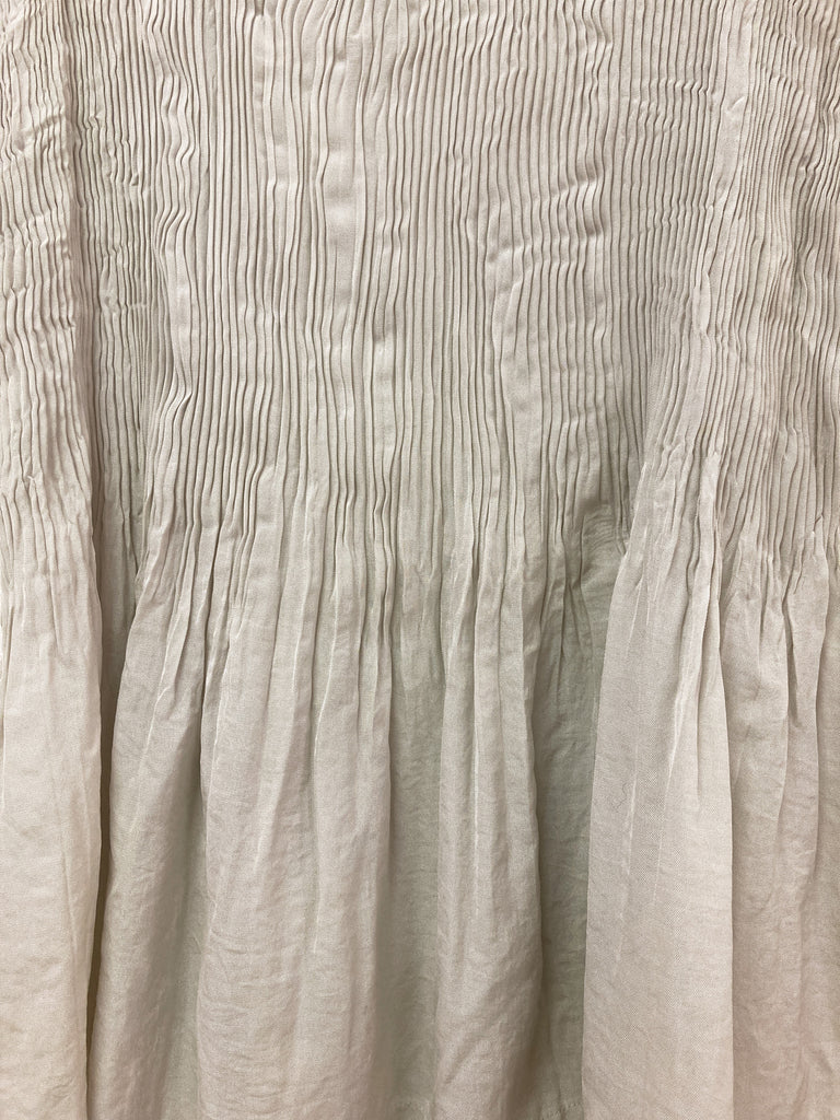 Tricot Comme des Garcons 1993 pleated triacetate sleeveless tunic