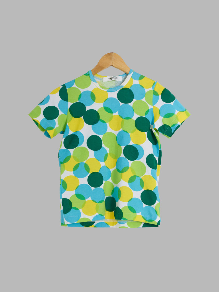 Junya Watanabe Comme des Garcons SS2001 fluorescent spotted t-shirt - womens S M