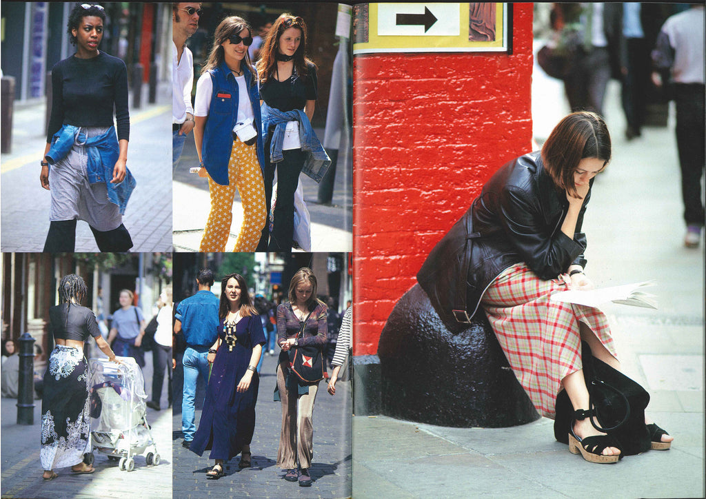 STREET magazine no. 50 / 1993 / street fashion in london / Shoichi Aoki