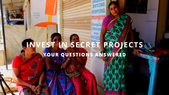 Secret Projects Community Benefit Society Investment Questions and Answers