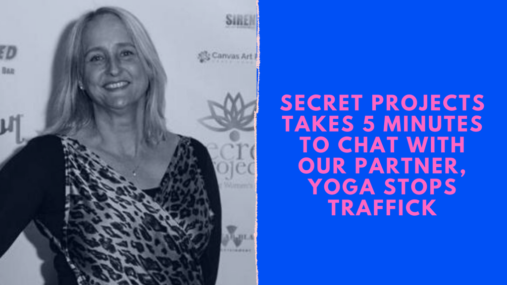5 minutes with Yoga Stops Traffick!