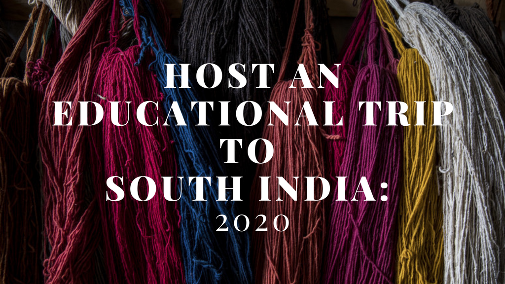 January 2021 - Educational Trip to India for Textiles and Technology Teachers