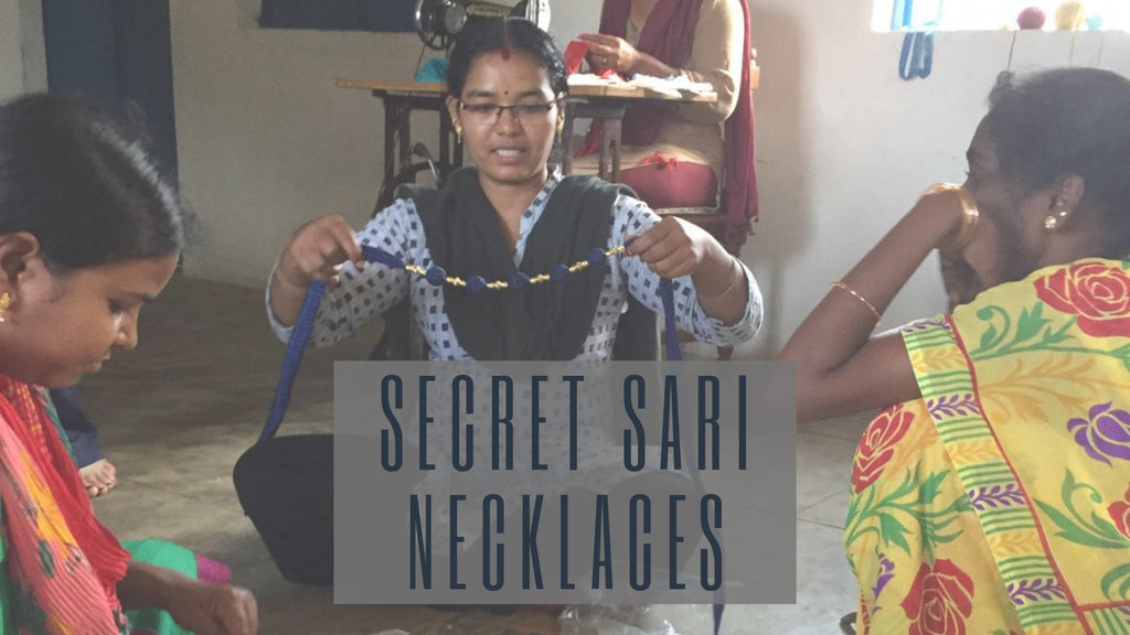 Secret Sari Necklaces