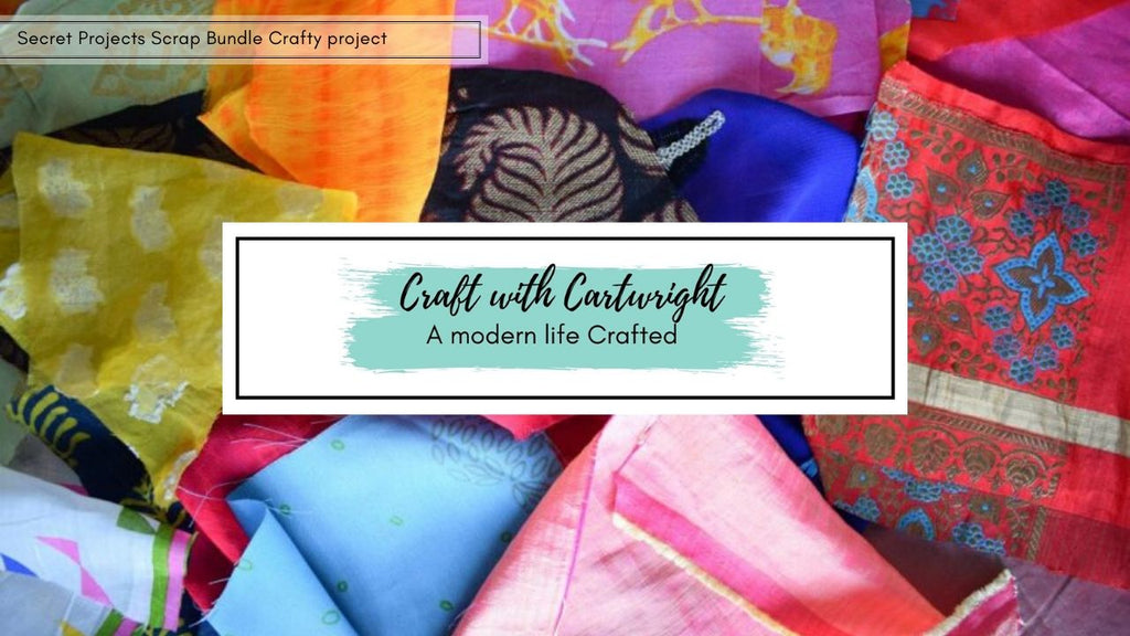 Craft with Cartwright - Secret Projects Crafty Scrap Bundle Challenge