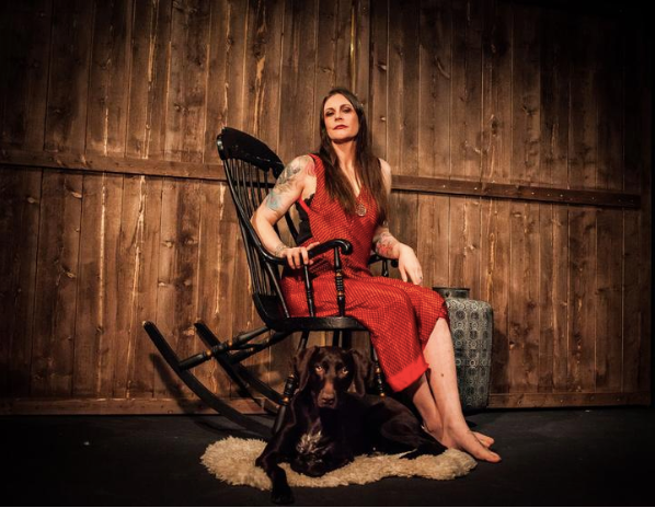 Floor Jansen Secret Sari Dress Collection