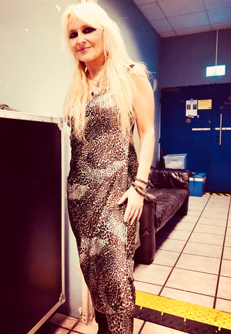 Doro Pesch Wears #SheRocks Secret Sari Dress
