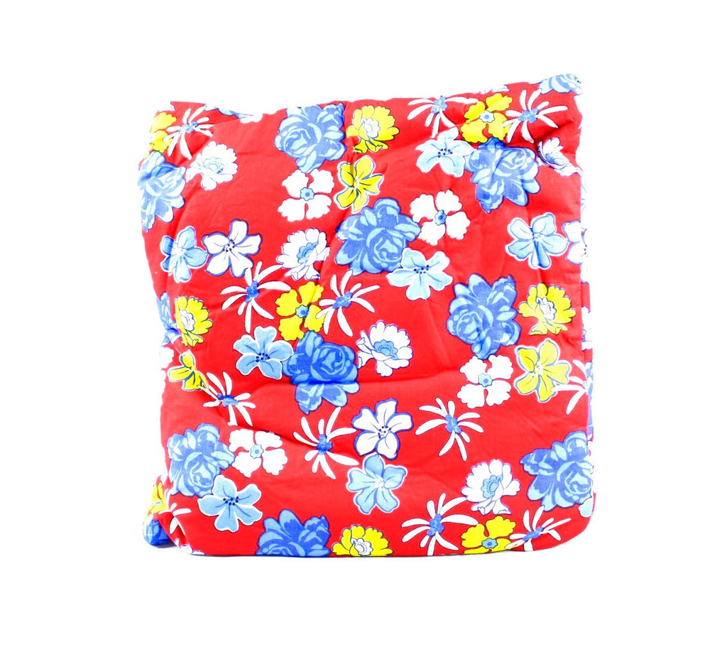 Arabian Sea Flowers Red Secret Pillow