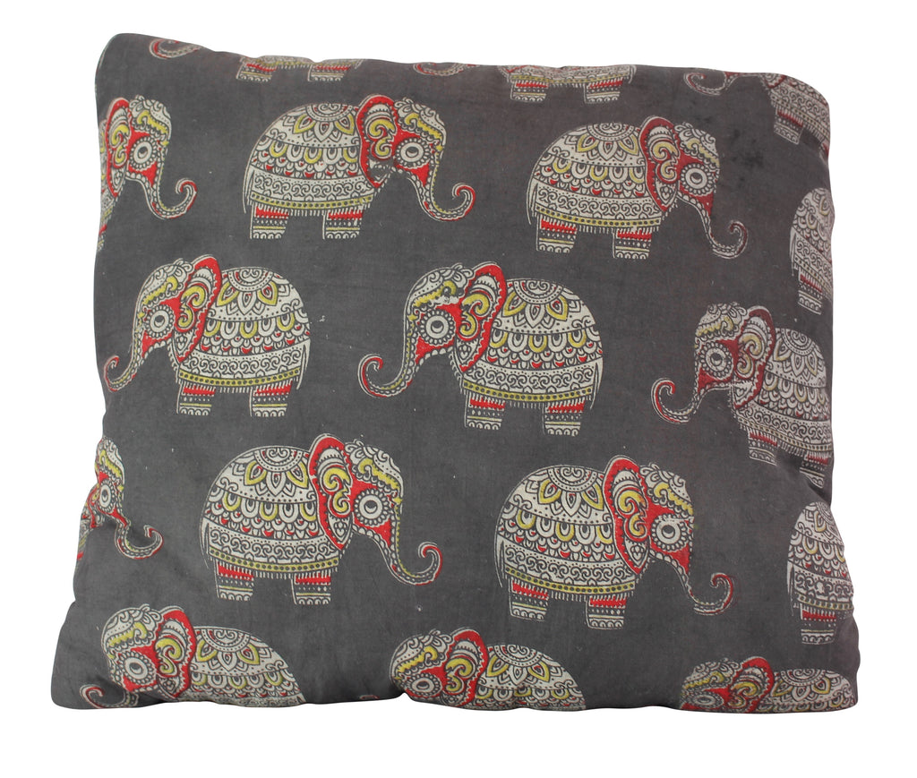 Baby Elephants Black Secret Pillow