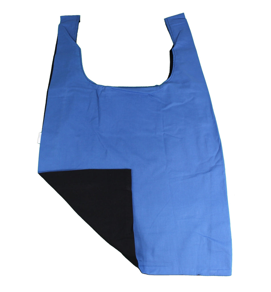 Black | Blue Secret Shopping Bag