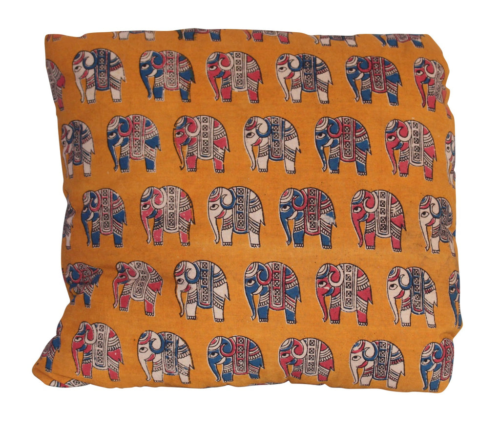 Elephant Herd Secret Pillow