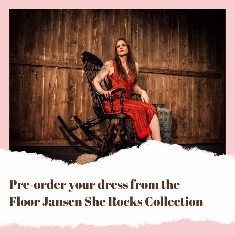 Floor Jansen Secret Sari Dress
