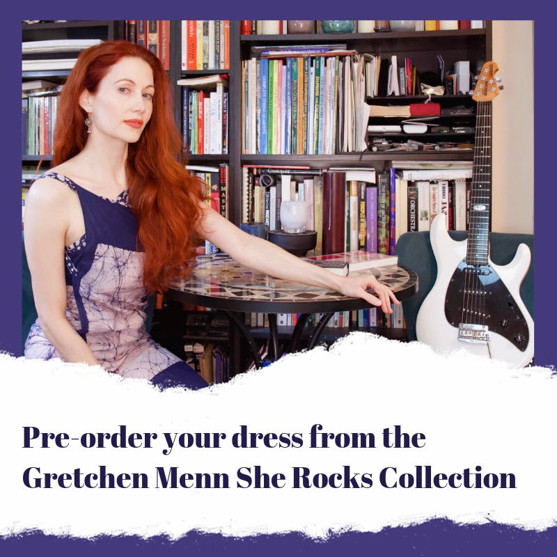 Gretchen Menn Secret Sari Dress