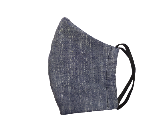 Greyish Denim Face Mask