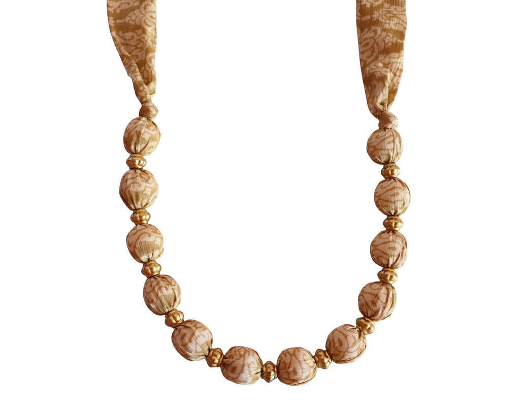 Sand Secret Sari Necklace