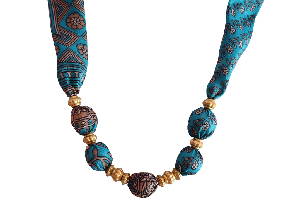 Azul Secret Sari Necklace