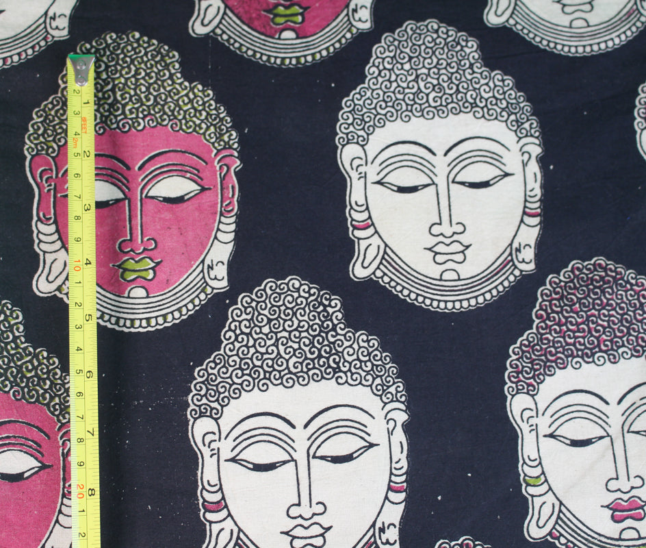 Buddha Secret Pillow in black