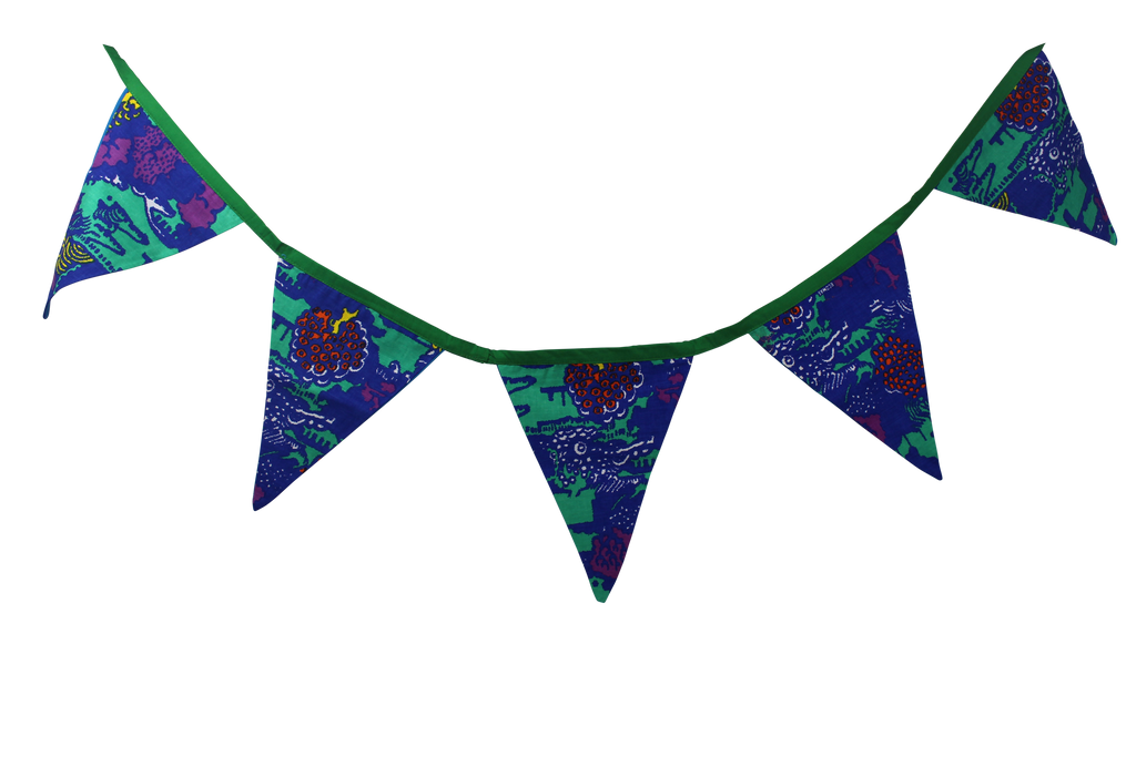 Jungle Secret Bunting