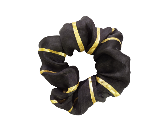 Secret Scrunchie Large-Fools Gold