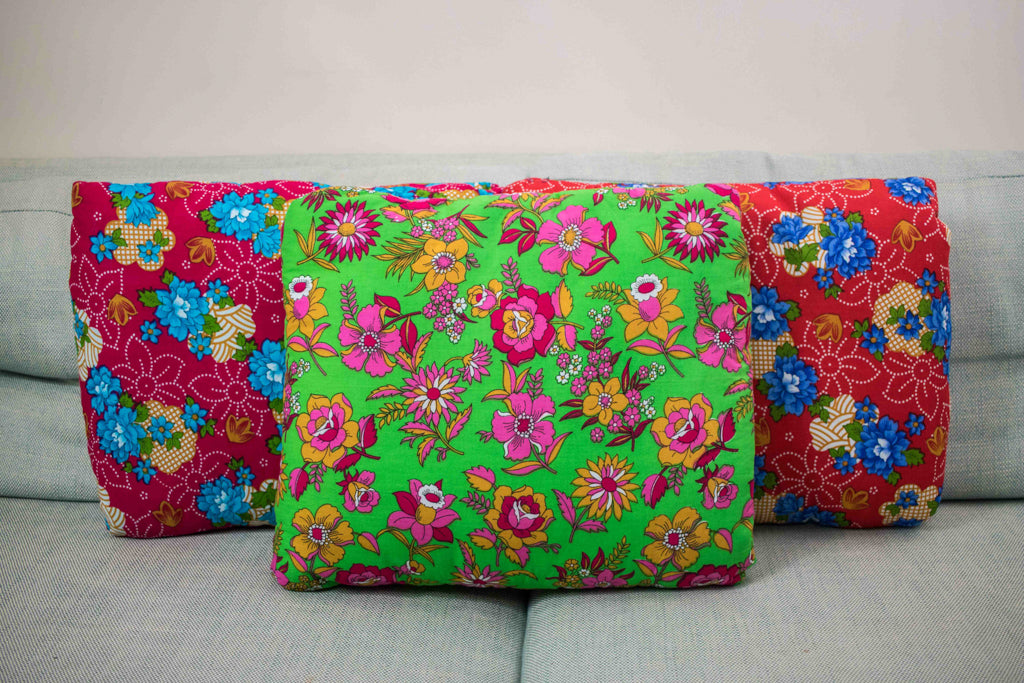 Arabian Flowers Green Secret Pillow
